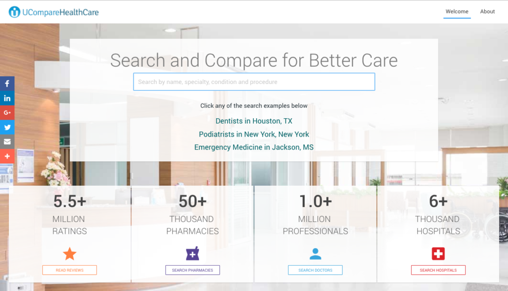ucomparehealthcare top doctor review sites