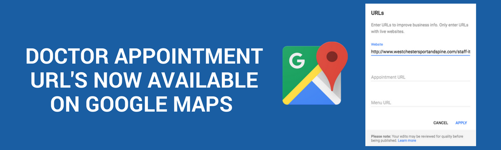 Doctor Appointment Url Google Maps